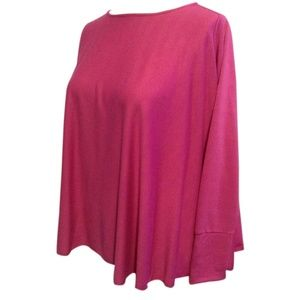 Serena Williams Long Sleeve Tunic Magenta
